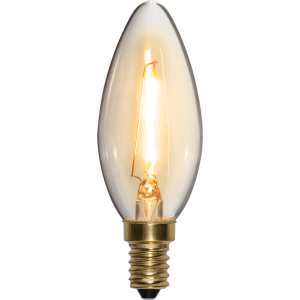 Kolfilament Lyktlampa LED E14 2100K 120lm 2W(13W)