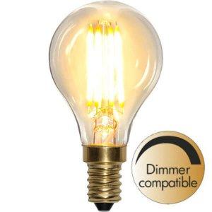 LED-Lampa Klot, E14 2100K 360lm 4W Soft Glow