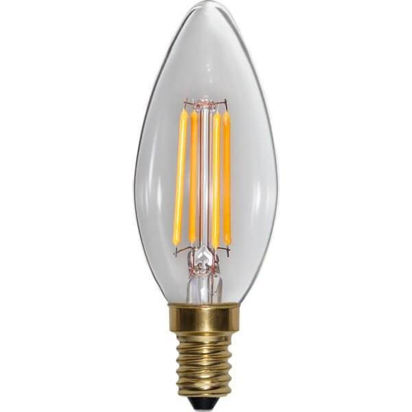 LED-Lampa Kron, E14 2100K 350lm 4W(30W)