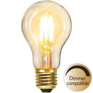 LED-Lampa Klot, E27 2100K 400lm 6W Soft Glow