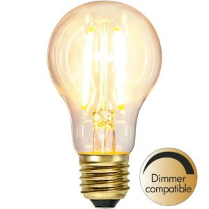 LED-Lampa Klot, E27 2100K 720lm 6W Soft Glow