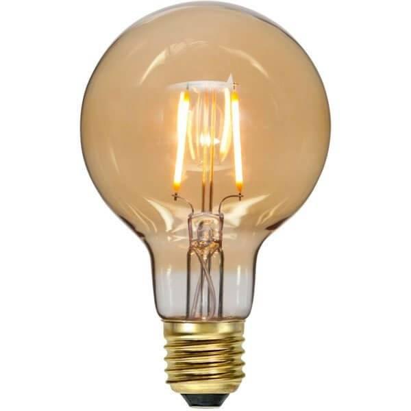LED-Lampa Klot, E27 2000K 80lm 0,75W Soft Glow