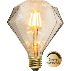 LED-Lampa Diamant, E27 2200K 80lm 1,65W Soft Glow