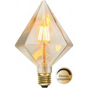 LED-Lampa Diamant, E27 2200K 100lm 1,65W(10W)