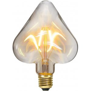 LED-Lampa Hjärta, E27 2200K 100lm 1,4W(10W)