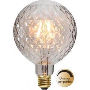 LED-Lampa Glob 125mm, Amber E27 2200K 140lm 21W(14W)