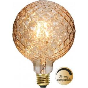 LED-Lampa Glob 125mm, Amber E27 2100K 130lm 2,1W(13W)