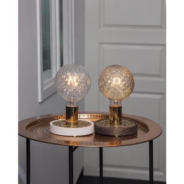 LED-Lampa Glob 125mm, Amber E27 2100K 150lm 2,2W(15W)