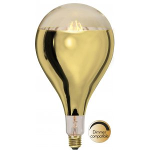 LED-Lampa Drop 165mm, E27 2000K 400lm 8W(40W)