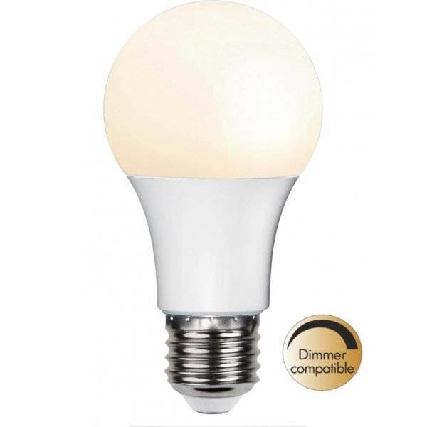 LED-Lampa Opal, E27 2700K 470lm 6W(40W)