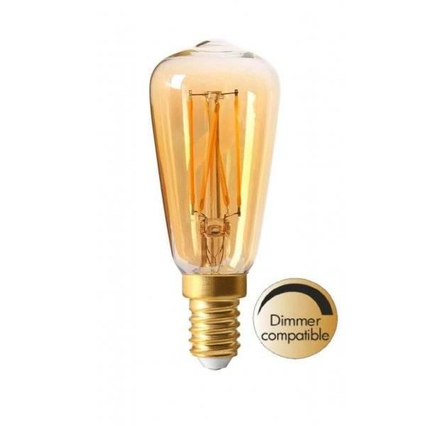 Elect Edison LED Lyktlampa, Amber E14, 2100K, 130lm, 2,5W