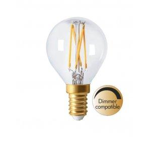 LED-lampa Klot, E14, 2300K, 210lm 3,5W