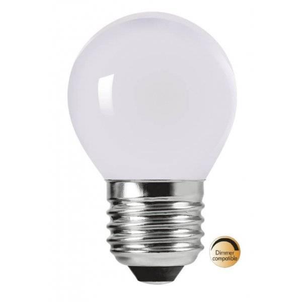 LED-Lampa Klot, Opal E27 2700K 280lm 3,5W