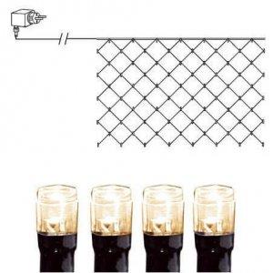LED Ljusnät 3x3m Varmvit Svart Kabel