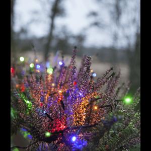 LED Ljusslinga 9m Färgmix Svart Kabel