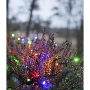 LED Ljusslinga 7m Färgmix Chaser Svart Kabel