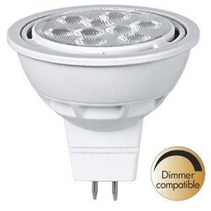 Spotlight räfflad LED GU5.3 2700K 680lm 8W(50W)