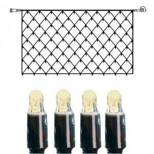 Nät Extra LED 2x1m Varmvit 100L