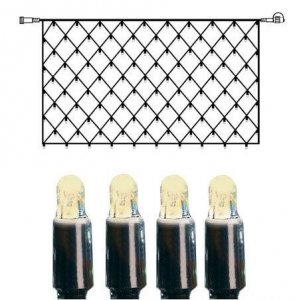 Ljusslinga LED 3m Blå Extra 30L Vit Kabel