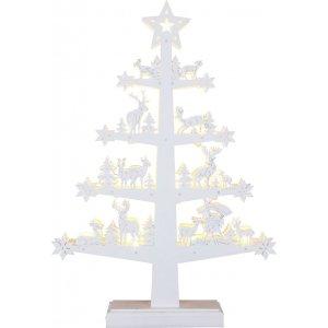 Batteridrivet kyrktorn i trä