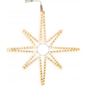 Ljusslang Stjärna System LED 55cm Varmvit