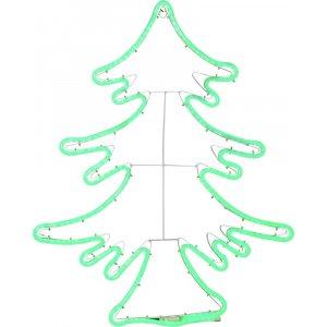 Siluett Jultomte LED