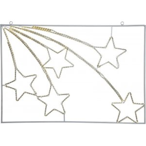 Siluett Tapesil Stjärnfall LED