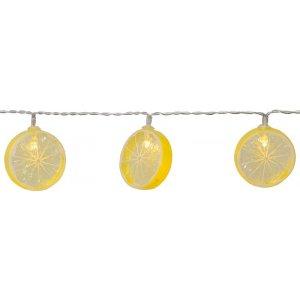 Batteridriven Ljusslinga LED, Fruity Citroner