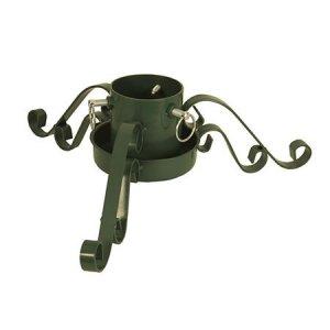 Granfot i metall, grön 90mm