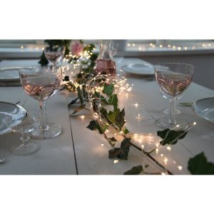 Dew Drop Metallslinga Bouquet 125L LED Varmvit