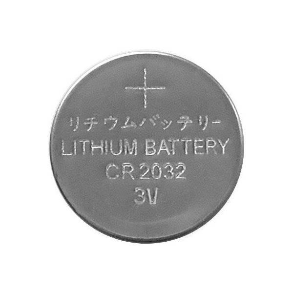 CR2032-batteri, Lithium 3V, 6-pack