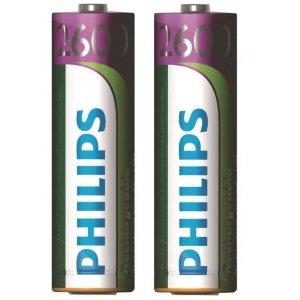 Laddningsbara batterier AA 2 st/förp