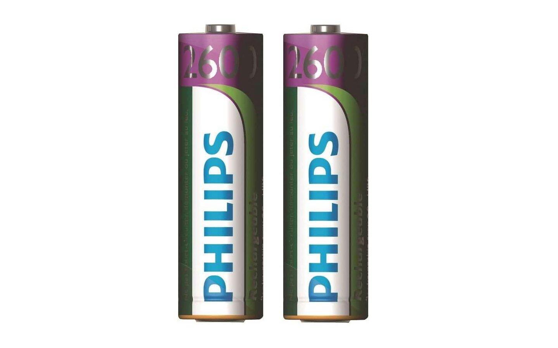 Uppladdningsbara AA-batterier, HR6 1,2V, 2-pack