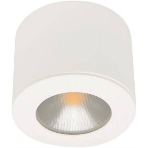 LED-Downlight 230V Puck, 3,5W, Vit, MD-48