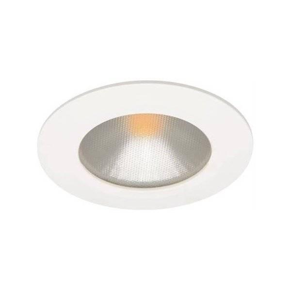 Unika Köp LED-Downlight 230V Puck, 3,5W, Vit, MD-48 QK-24