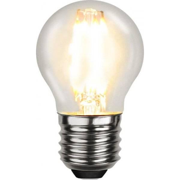 LED-Lampa Klot, E27 2700K 470lm 4W(40W)