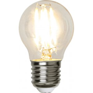 LED-Lågvoltslampa 12-24V, Klot E27 2700K 250lm 2,3W(25W)