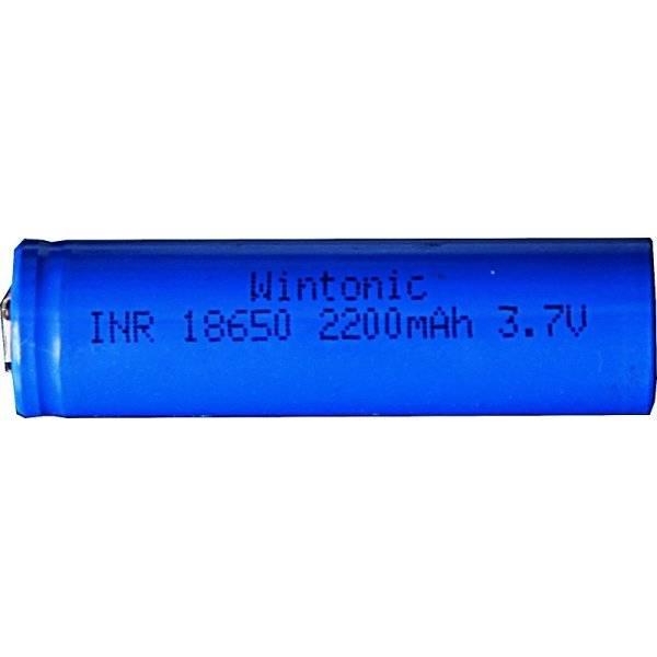 Laddbart batteri 18650 LI-ION 3,7V