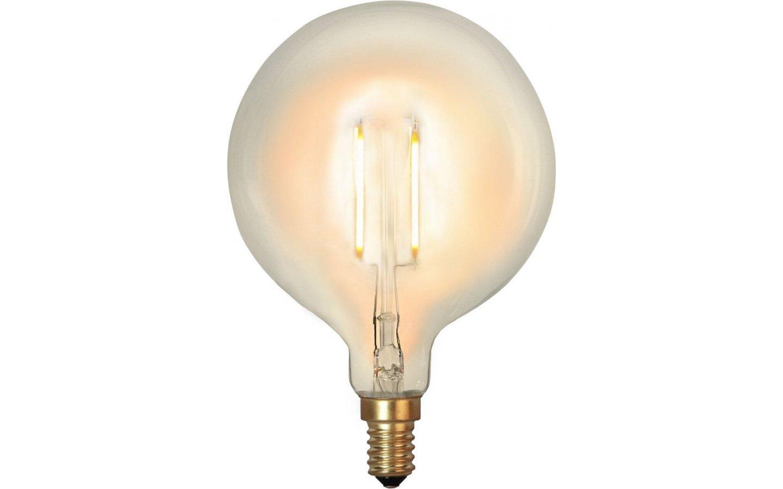 LED-Lampa Glob, 80mm E14 2100K 90lm 1W(9W)