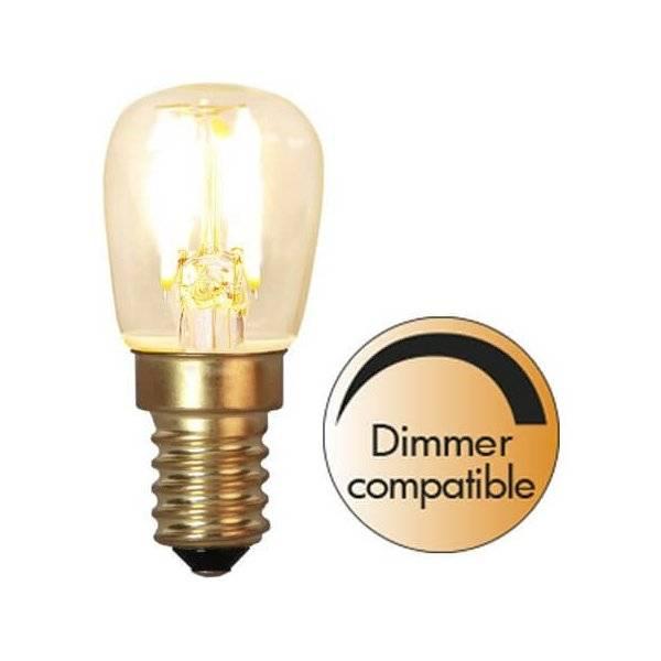 LED-Lampa Päron, E14 2100K 60lm 1,4W(6W)