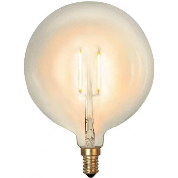 LED-Lampa Glob, 95mm E14 2100K 90lm 1W(9W)
