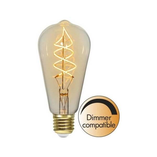 LED-Lampa Lyktlampa, E27 2200K 160lm 3W(16W)