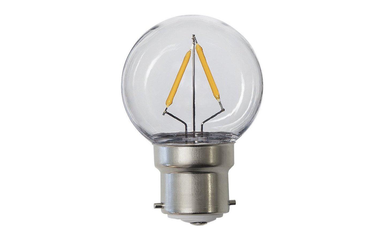 LED-Lampa Klot B22 2700K 130lm 1,8W(13W)