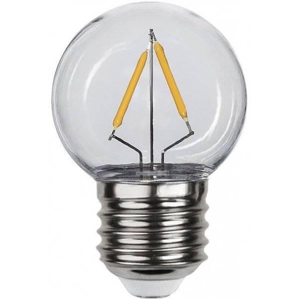 LED-Lampa Klot, E27 2700K 130lm 1,3W(13W)