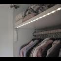 Batteridriven LED Garderobslampa med rörelsesensor