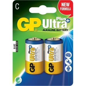 C-batteri Ultra Plus, LR14 1,5V, 2-pack