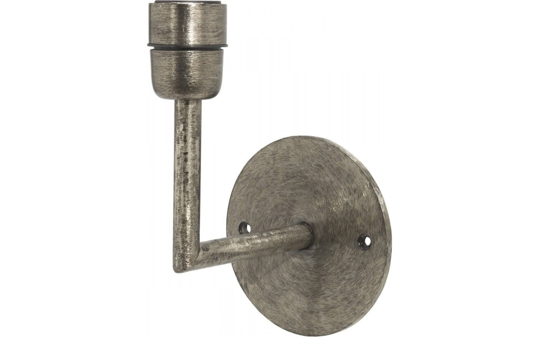 Base Vägglampa Silver