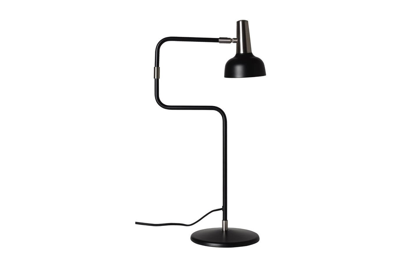 Ray Bordslampa Svart/Nickel