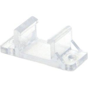Plastclips liggandes för LED-Neonslang dubbel, 10-pack