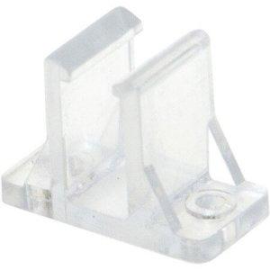Plastclips ståendes för LED-Neonslang dubbel, 10-pack